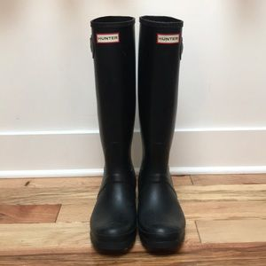 Black Hunter Rainboots